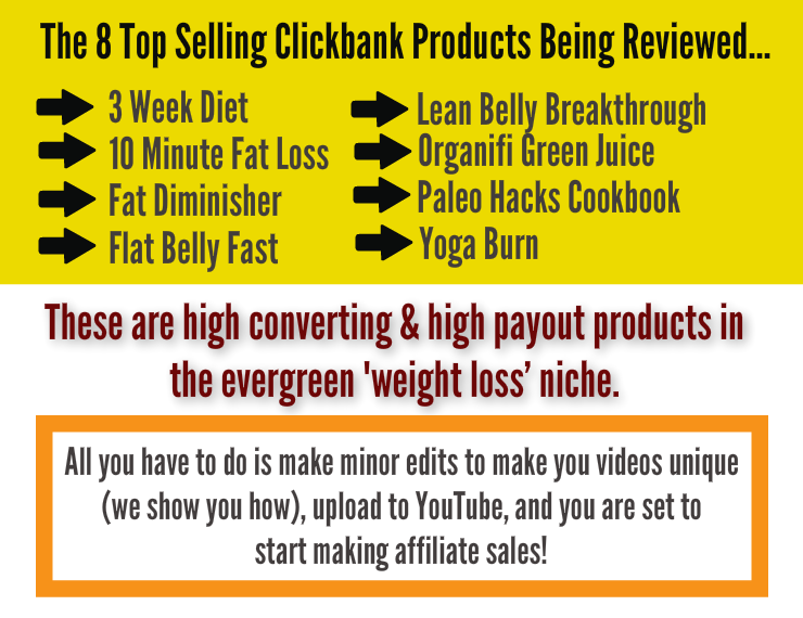 Clickbank Review Videos - Weight Loss & Health - Top Level ...