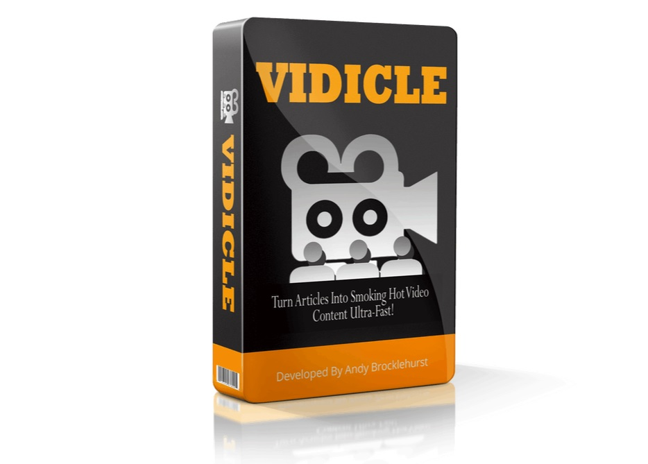 Vidicle – Simple Video Creation Software